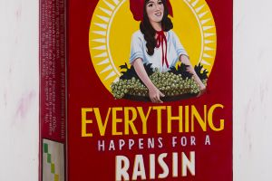 Everything Happens… (Sunmaid Raisin Box) by