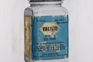 Sunshine on a Cloudy Day (Valium Bottle) by